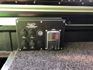 Getaway Dual Battery with custom made power panel for Ford