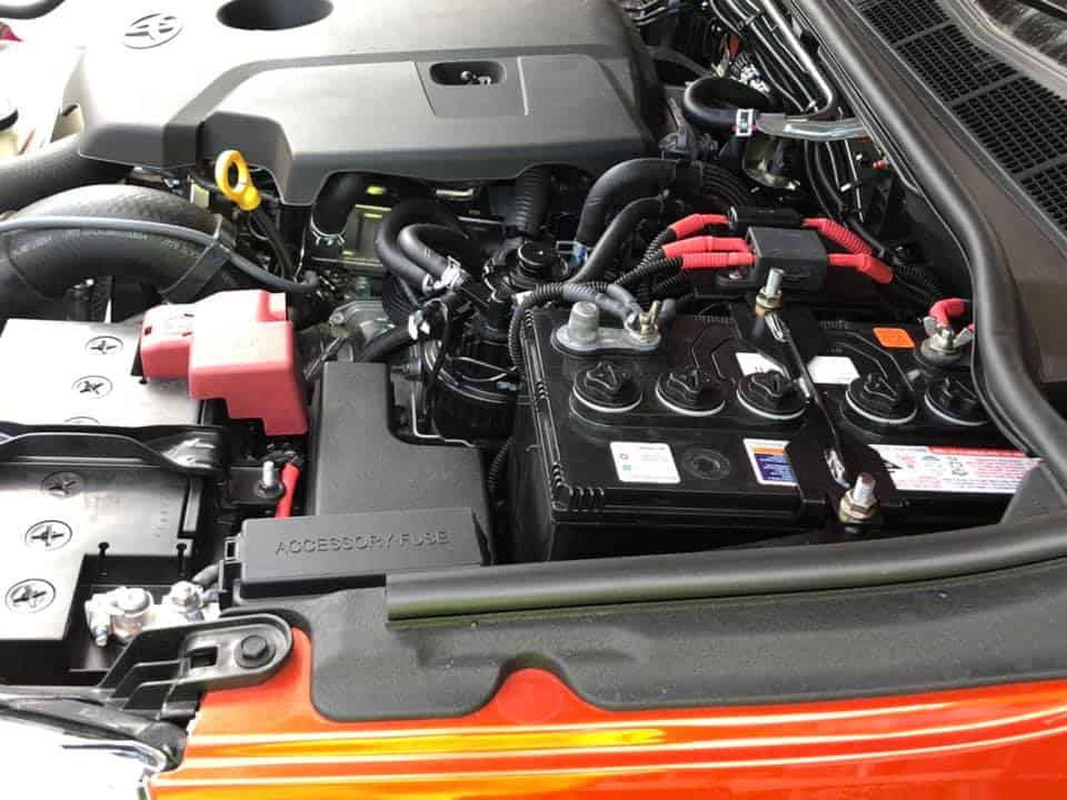 Dual battery system with Redarc BCDC charger